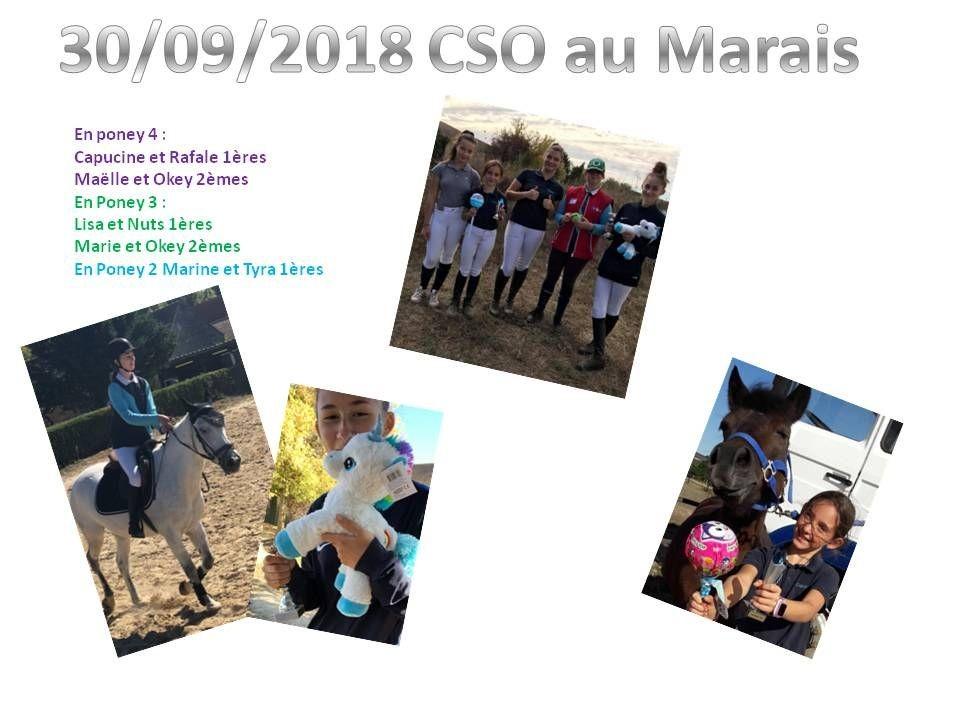 30 - 09 - 2018 CSO au Marais